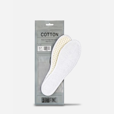 Cotton Sole - Hvit 295698 feetfirst.no