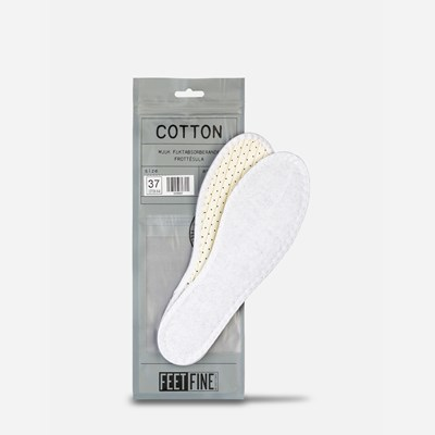 Cotton Sole - Hvit 295699 feetfirst.no