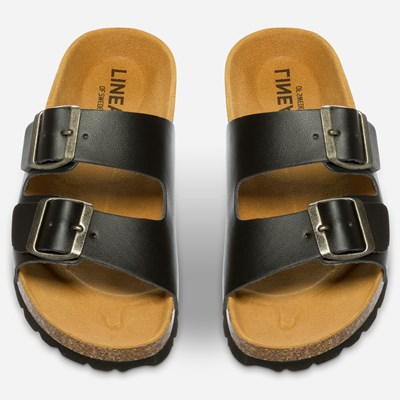 Linear Sandal - Sort 304057 feetfirst.no