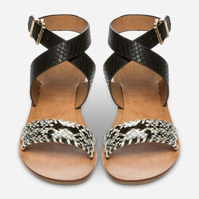 Xit Sandal - Sort 304498 feetfirst.no
