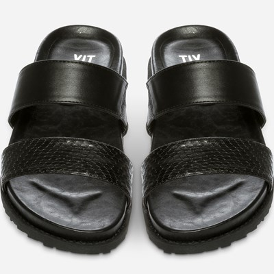 Xit Sandal - Sort 308059 feetfirst.no