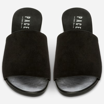 Pace Sandal - Sort 312643 feetfirst.no