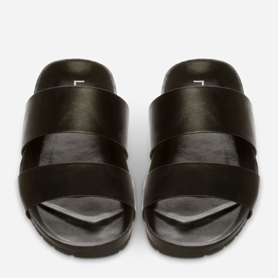 Linear Sandal - Sort 321262 feetfirst.no