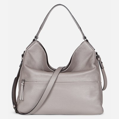 Ecco Soft Hobo Bag - Grå 304874 feetfirst.no