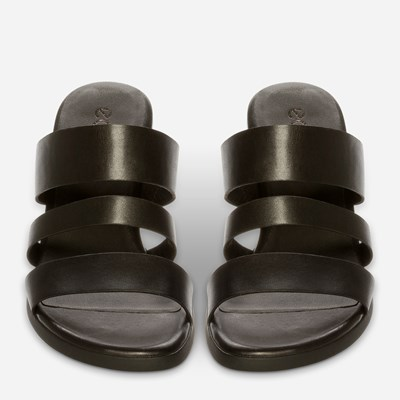 Ecco Shape Block Sandal 65 - Sort,Sort 322879 feetfirst.no
