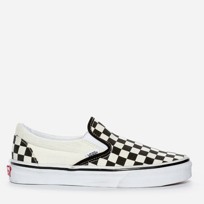 Vans Slip On Checker - Sort 279341 feetfirst.no