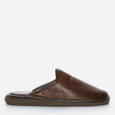 Hush Puppies Leather Slip In - Brun 289362 feetfirst.no