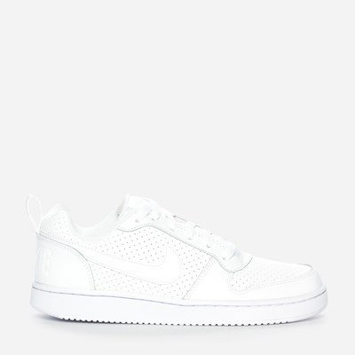 Nike Court Borough Low - Hvit 302159 feetfirst.no