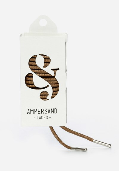 Ampersand 75 Cm Ampersand Lace Metal - Brun 304045 feetfirst.no