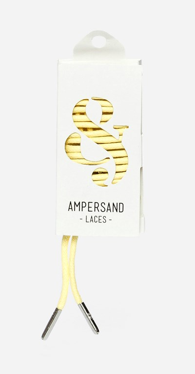 Ampersand 75 Cm Ampersand Lace Metal - Gul 304048 feetfirst.no
