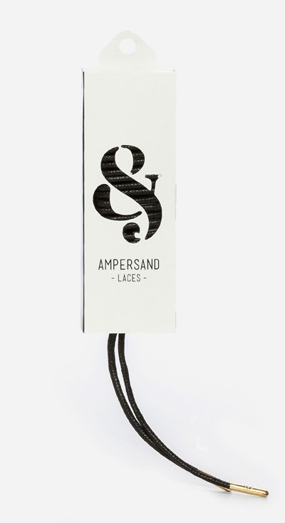 Ampersand 120 Cm Ampersand Lace Metal - Sort 304050 feetfirst.no