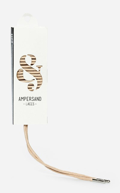 Ampersand 120 Cm Ampersand Lace Metal - Brun 304051 feetfirst.no