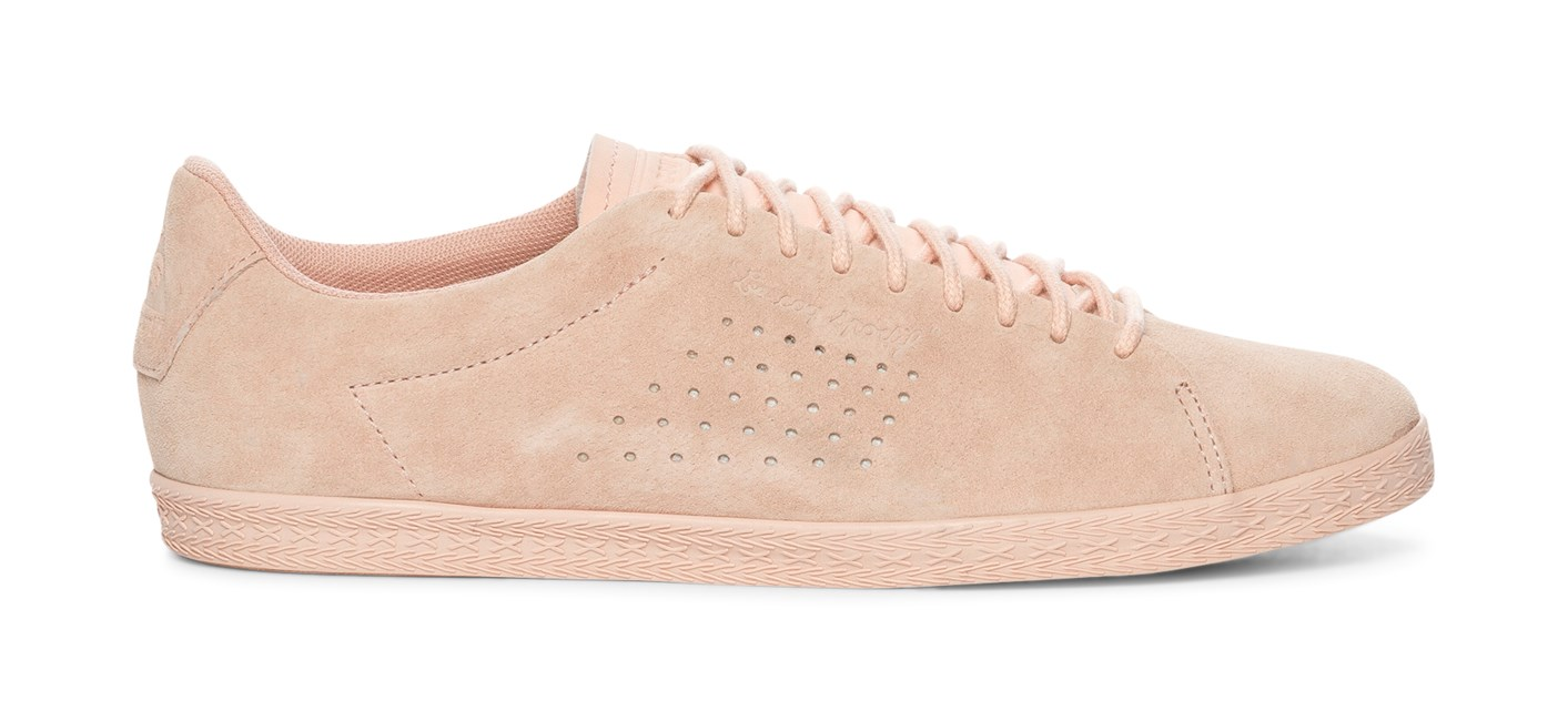 Le Coq Sportif Charline Suede - Rosa 307493 feetfirst.no
