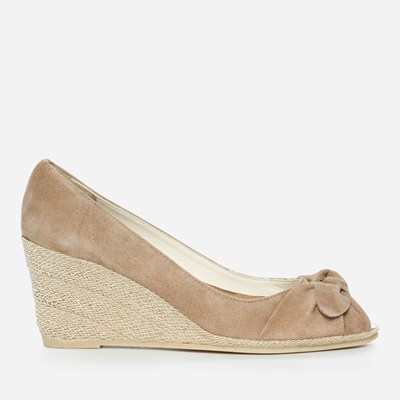 Jerns Ava Bow - Beige 307939 feetfirst.no
