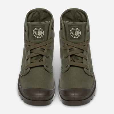 Palladium Pampa Hi Ladies - Grønn 310223 feetfirst.no