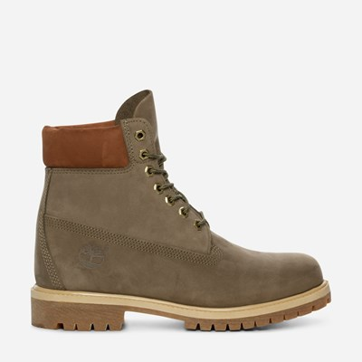 "Timberland 6"" Premium Boot Icon - Grønn 310594 feetfirst.no"