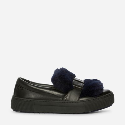 Karl Lagerfeld Pombow Slip-On - Sort 310887 feetfirst.no