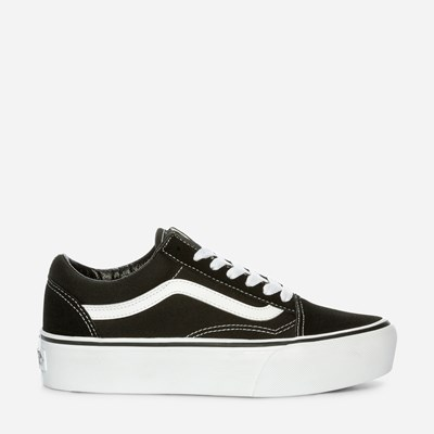 Vans Old Skool Platform - Sort 312176 feetfirst.no