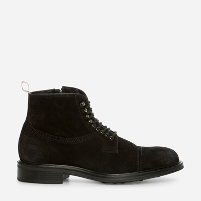 Paolo Sartori Laced Boot - Sort 312222 feetfirst.no