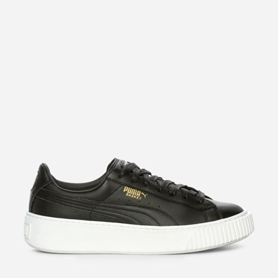 Puma Basket Platform  Core - Sort 312320 feetfirst.no