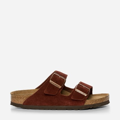 Birkenstock Arizona Soft - Rød 318258 feetfirst.no