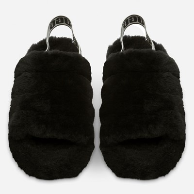 Ugg Fluff Yeah Slide - Sort 318326 feetfirst.no