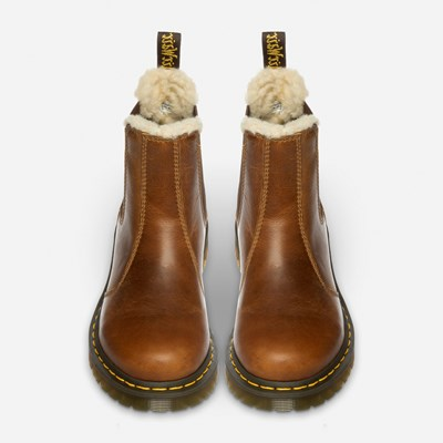 Dr Martens Leonore Chelsea - Brun 318736 feetfirst.no