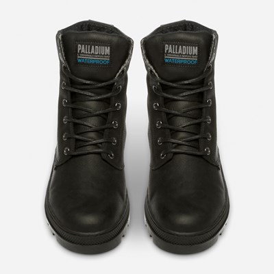 Palladium Pallabosse Sc Wp - Sort 319230 feetfirst.no