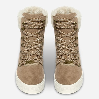 Steve Madden Windy Lace - Beige 320315 feetfirst.no