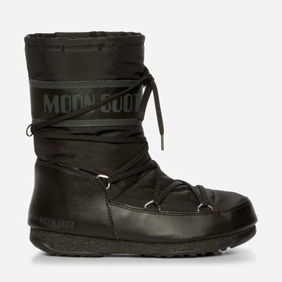 Moon Boot Moon Boot Mid - Sort 320517 feetfirst.no