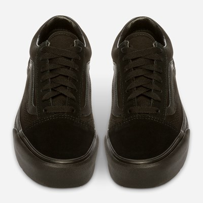 Vans Ua Old Skool Platfor Black/Bla - Sort,Sort 321744 feetfirst.no