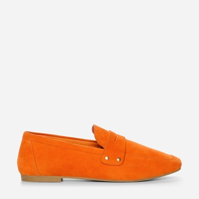 Depeche Lucy Loafer - Sort,Oransje 322145 feetfirst.no