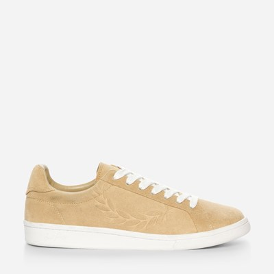 Fred Perry B721 Embossed Suede - Beige,Beige 322514 feetfirst.no