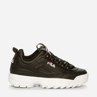 Fila Disruptor Low Wmn - Sort,Sort 322615 feetfirst.no