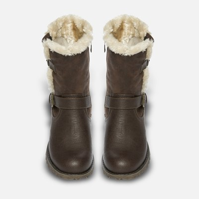 Alley Varmfôret Boots - Brun 293592 feetfirst.no