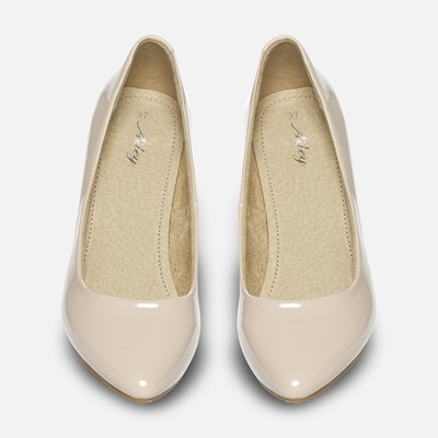Alley Pumps - Beige 300281 feetfirst.no