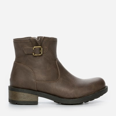 Zoey Varmfôret Boots - Brun 300771 feetfirst.no