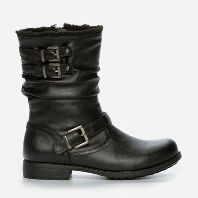 Zoey Varmfôret Boots - Sort 300773 feetfirst.no