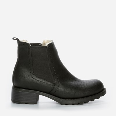 Alley Varmfôret Boots - Sort 301176 feetfirst.no
