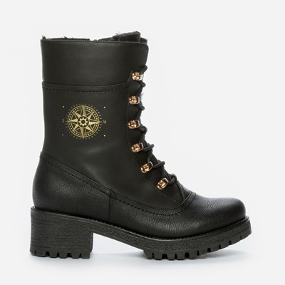 Alley Varmfôret Boots - Sort 301184 feetfirst.no