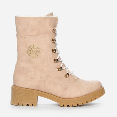 Alley Varmfôret Boots - Rosa 301185 feetfirst.no