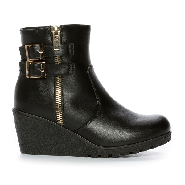 Alley Varmfôret Boots - Sort 301187 feetfirst.no