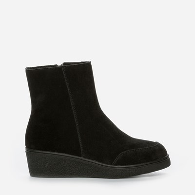Alley Varmfôret Boots - Sort 302073 feetfirst.no