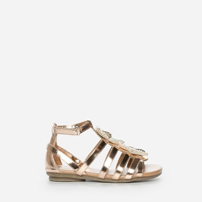 Zoey Sandal - Metall 303529 feetfirst.no