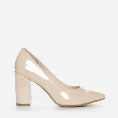 Vox Pumps - Beige 304843 feetfirst.no