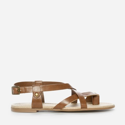 Alley Sandal - Brun 304946 feetfirst.no