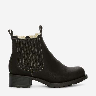 Alley Varmfôret Boots - Sort 308834 feetfirst.no