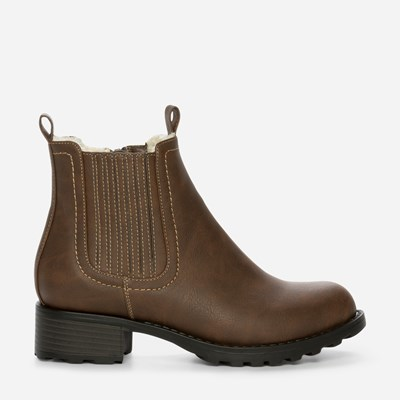 Alley Varmfôret Boots - Brun 308835 feetfirst.no