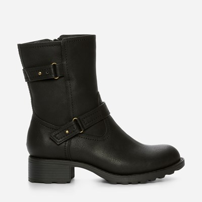 Alley Varmfôret Boots - Sort 308836 feetfirst.no