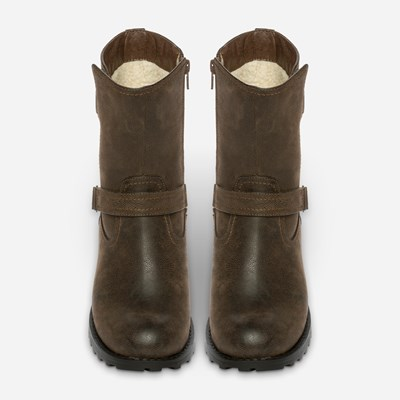 Alley Varmfôret Boots - Brun 308837 feetfirst.no